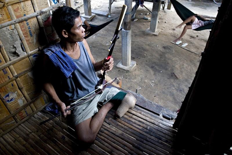 The Cambodian Landmine Museum