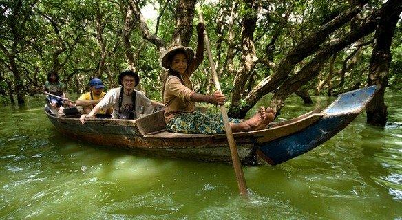 Kompong Phluk (Floating Village)