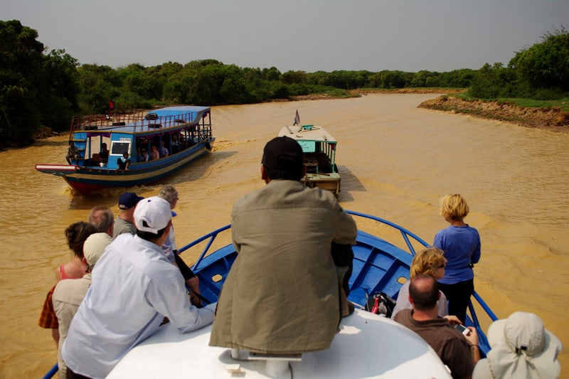 Boat Trips to Phnom Penh or Battambang