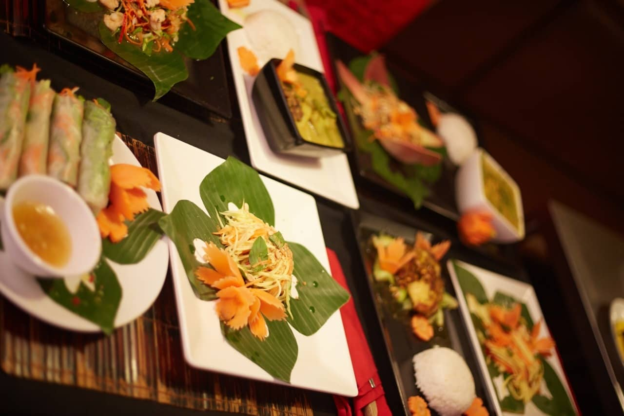 Cooking class phnom penh available from mad monkey hostels for Angkor borei cambodian cuisine
