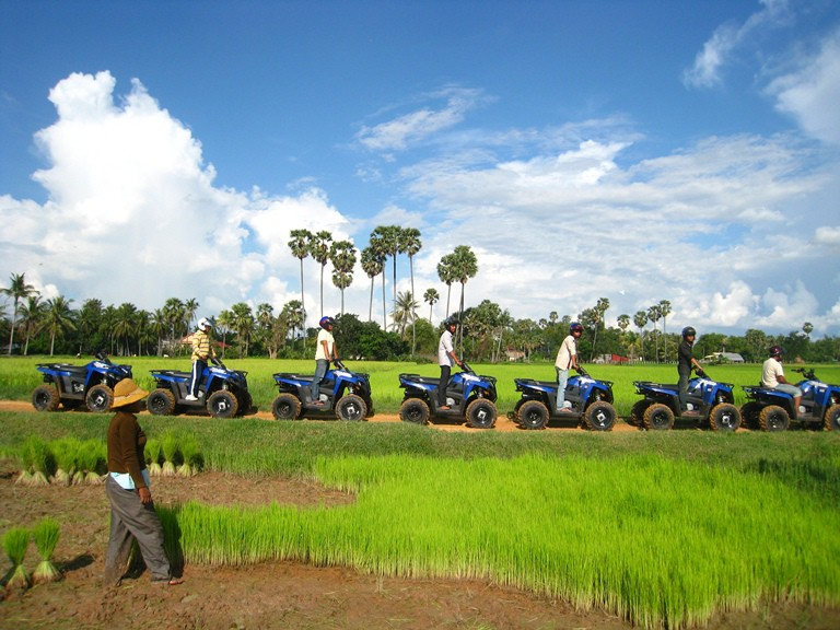 Angkor Wat Quad Bike Tour Siem Reap