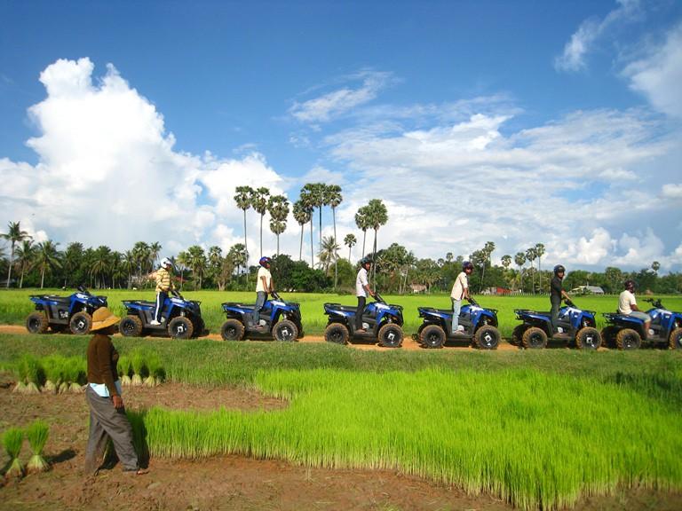 Angkor Wat Quad Bike Tour Siem Reap