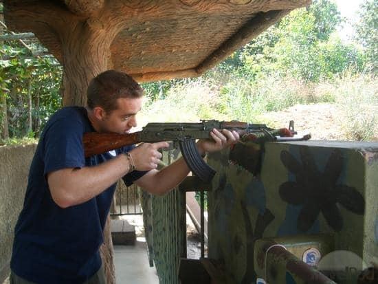 The Siem Reap Shooting Range