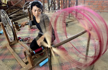 Siem Reap Silk Farm