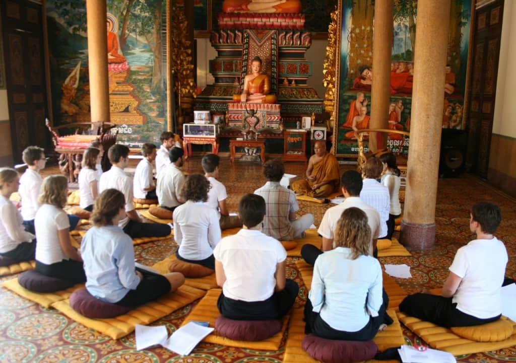 Meditation Classes at Wat Langka