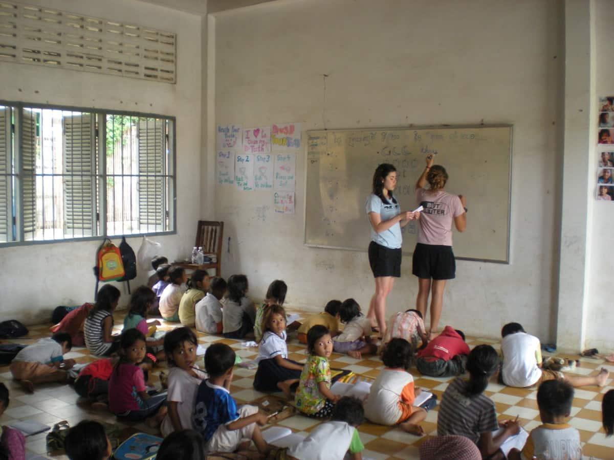 Where to teach English in Cambodia