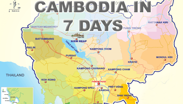 7 Day Cambodia Itinerary