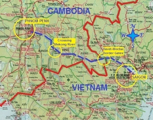 How to get from Phnom Penh to Ho Chi Minh, Bus, Flights, Boat