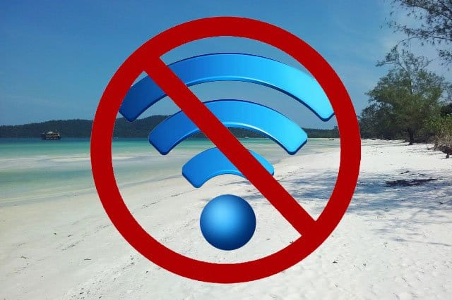 No Internet – A 100% Interweb Free Zone