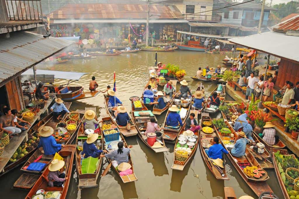 how to get to amphawa floating market from bangkok 2017