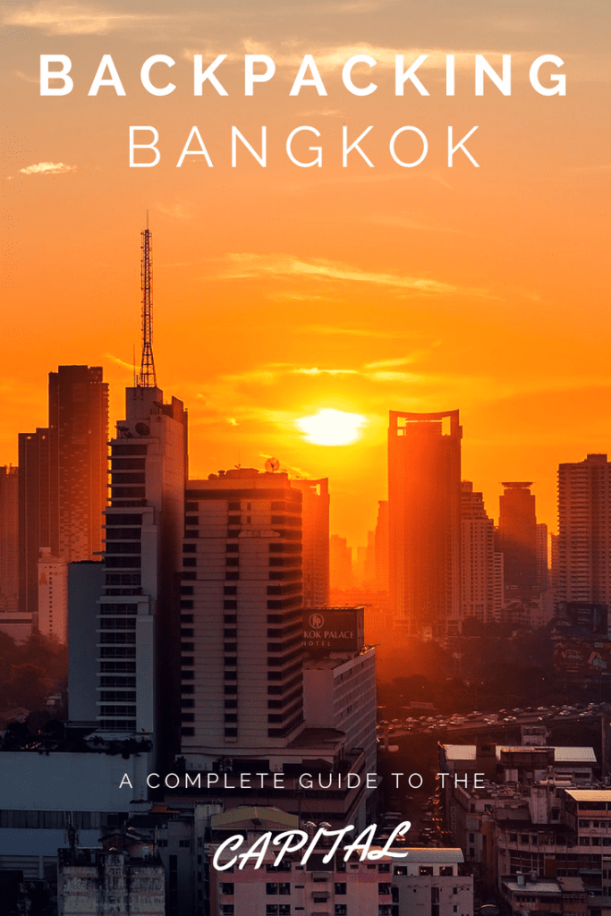 Backpacking Bangkok