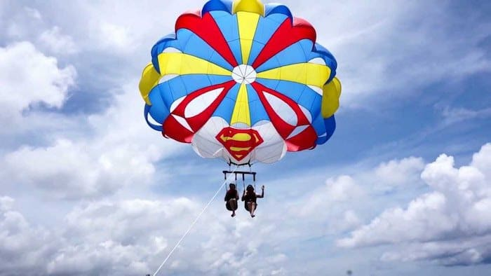 Things to do in Boracay - Parasailing