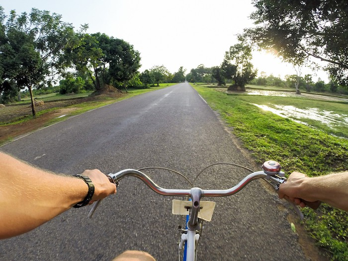 Rent a Bicycle in Kampot