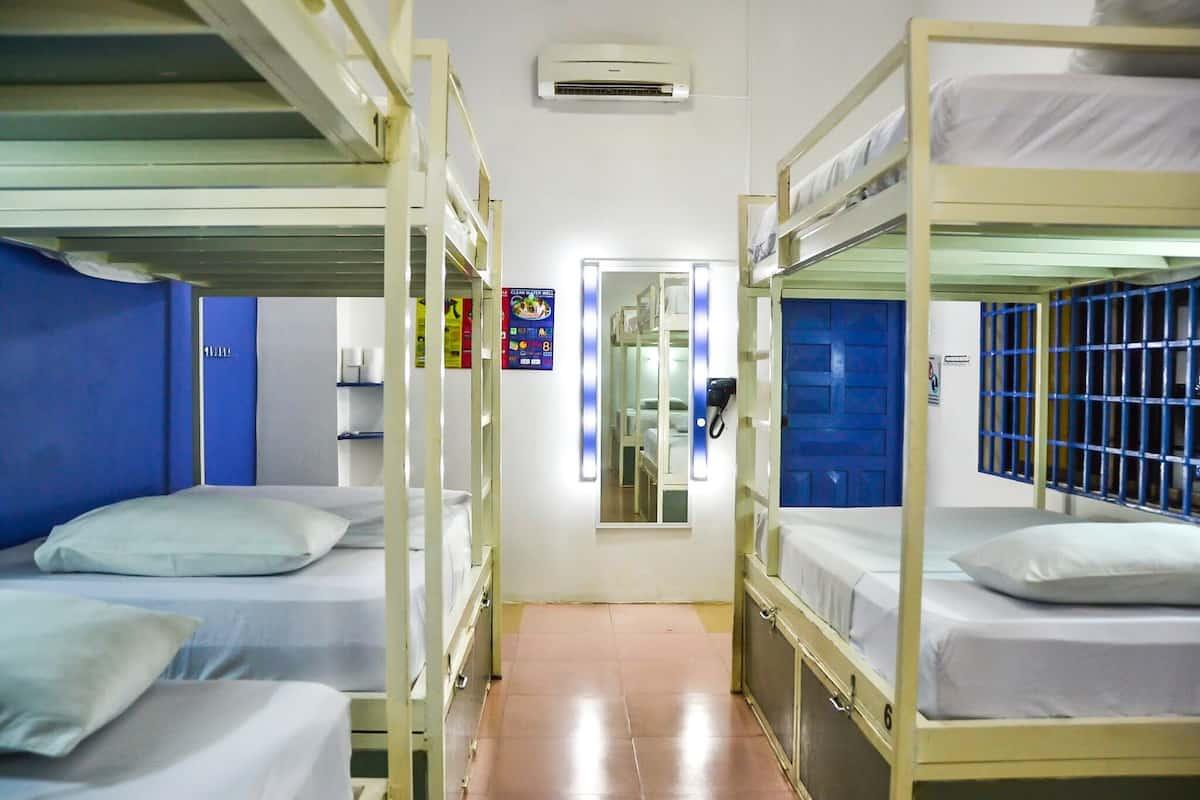8 Bed Dorm Rooms
