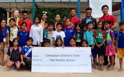 Mad Monkey CSR: 2nd Quarter Report, 2017