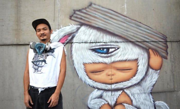 Khmer Art - Khmer Art Gallery - Alex Face
