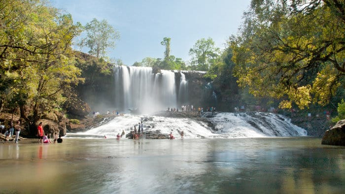 Cambodian Sights - bou sra waterfall - top 5 places to visit in cambodia