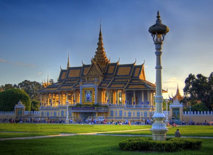 Cambodian Sights - Royal Palace - fun things to do in cambodia