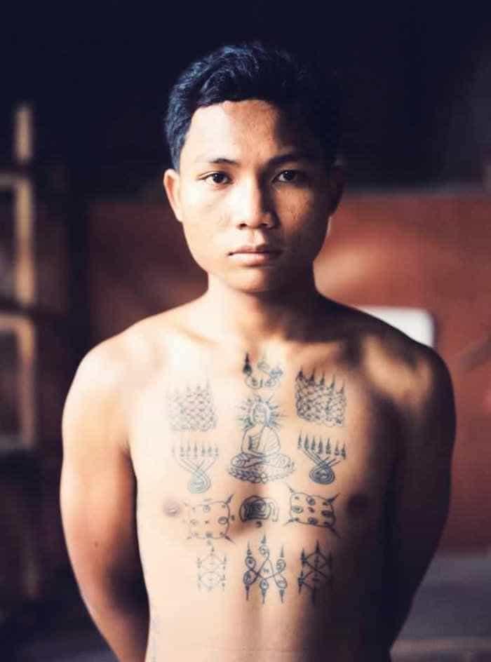 Cambodian Tattoos - Sak Yant
