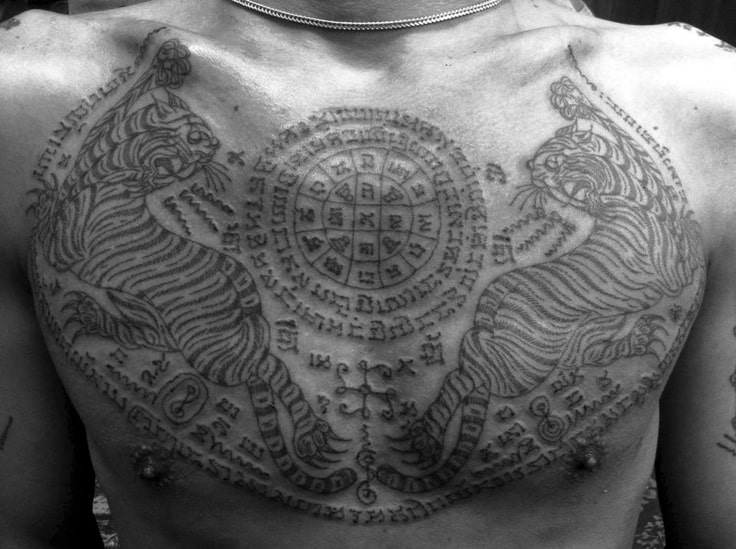 Cambodian tattoos why getting one could save your life for Bangkok tattoo prices
