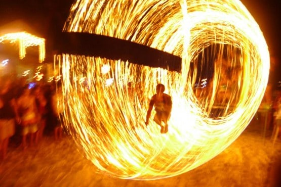 Mad Monkey Fire Show: Koh Phangan