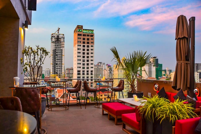 Best Rooftop Bars Phnom Penh