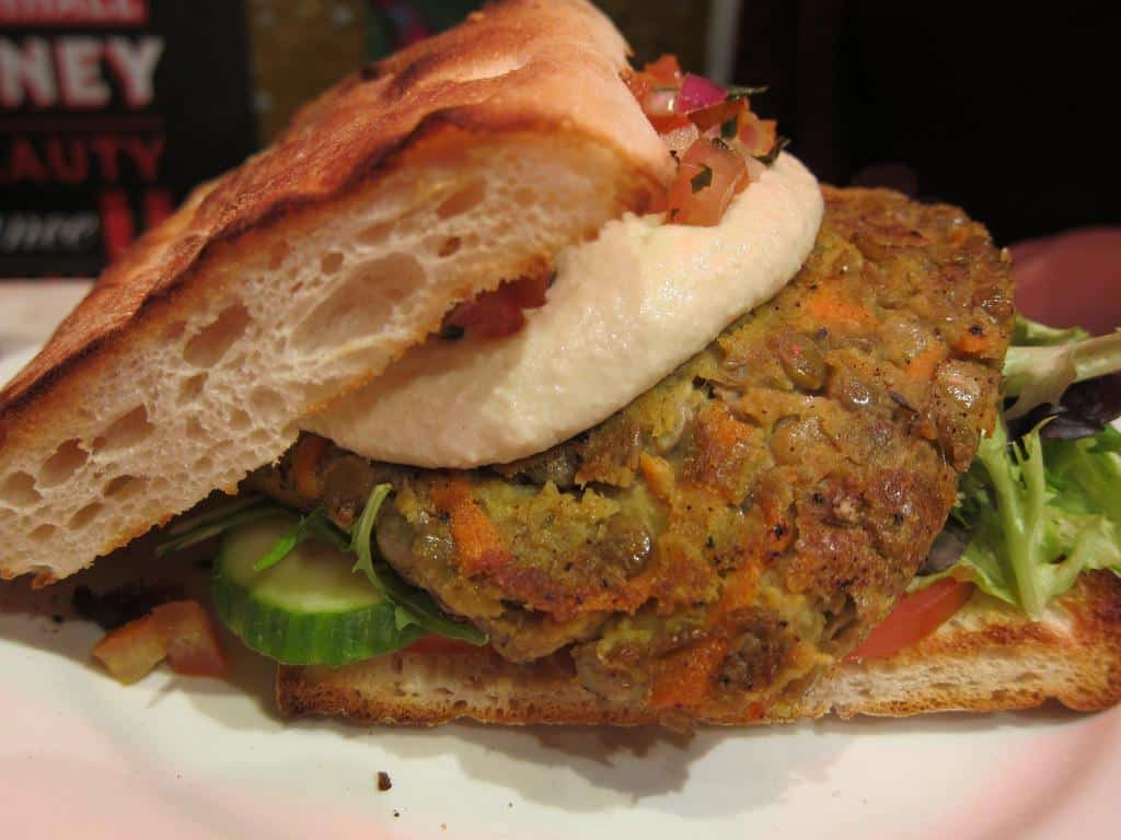veggie burger Sydney
