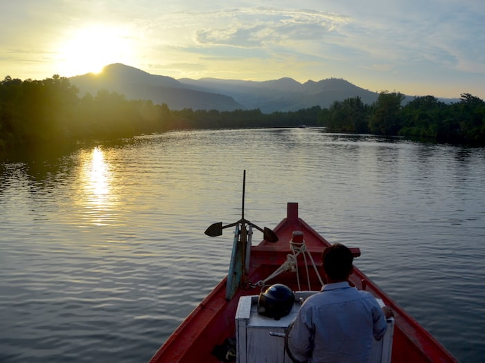 Kampot Sunset River Cruise