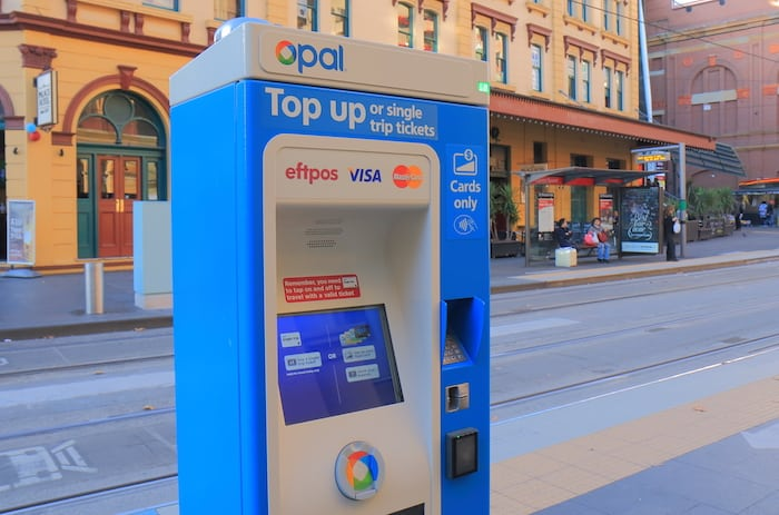 Sydney Public Transportation Opal