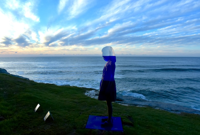 Sculpture by the Sea at the Bondi to Coogee Coastal Walk