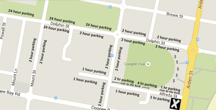 Coogee Parking