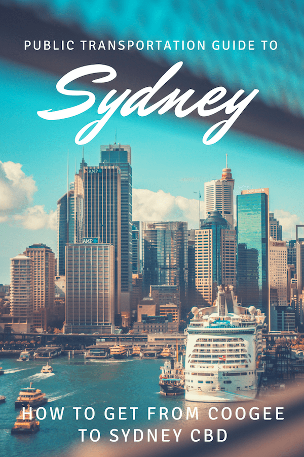 Coogee to Sydney City Center Guide