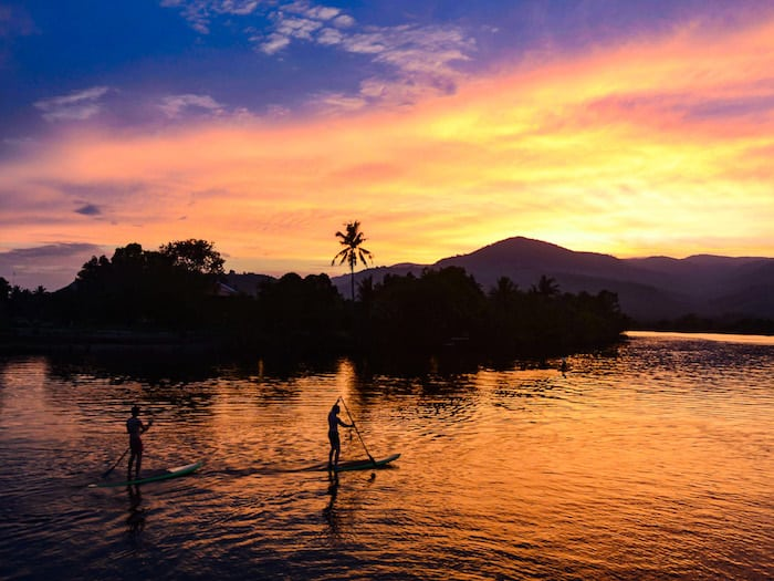 Kampot Sunset Cruise Stand Up Paddle Board