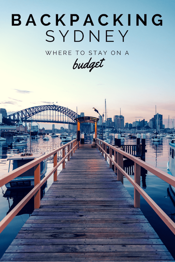 Backpacking Sydney - Where to Stay on a Budget