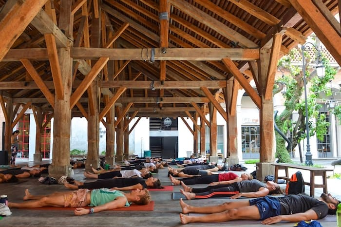 Where to do yoga in Chiang Mai