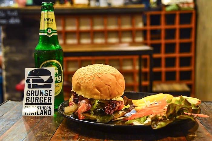 Grunge Burger in Pai, Thailand