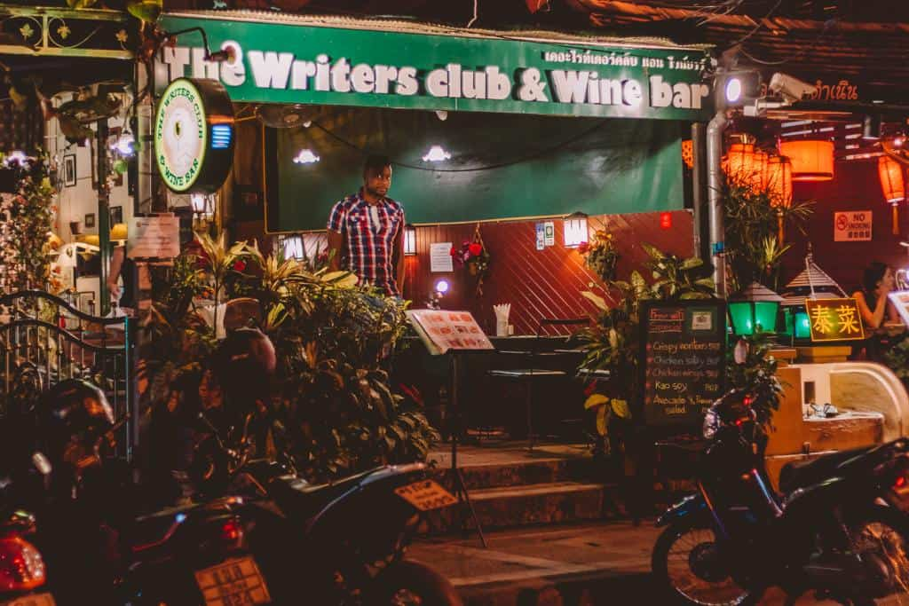 The Writers' Club and Wine Bar