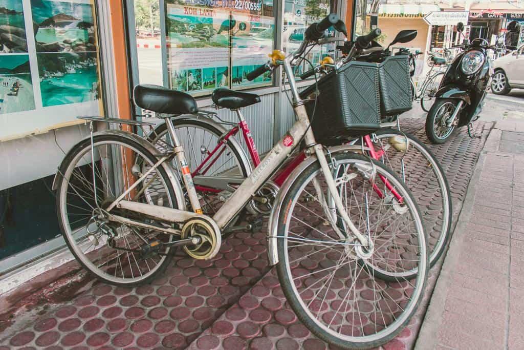 Get Around via Bicycle