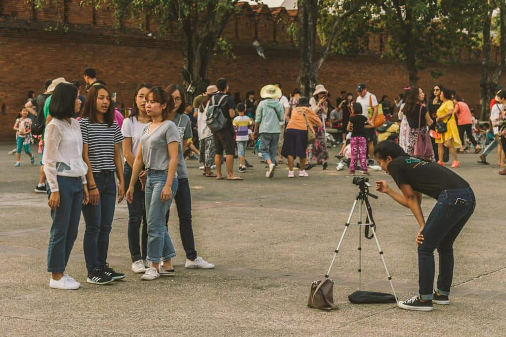 Stay away from Tourist Hot Spots