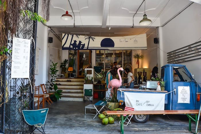 Rubber Killer shop and cafe