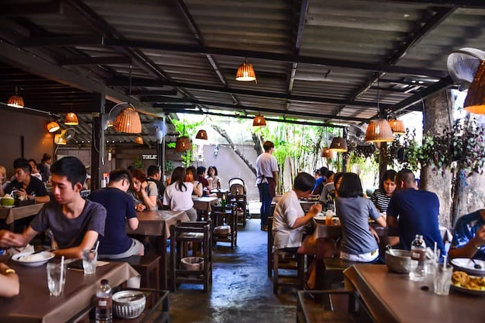 Tong Tem Toh Restaurant in Chiang Mai