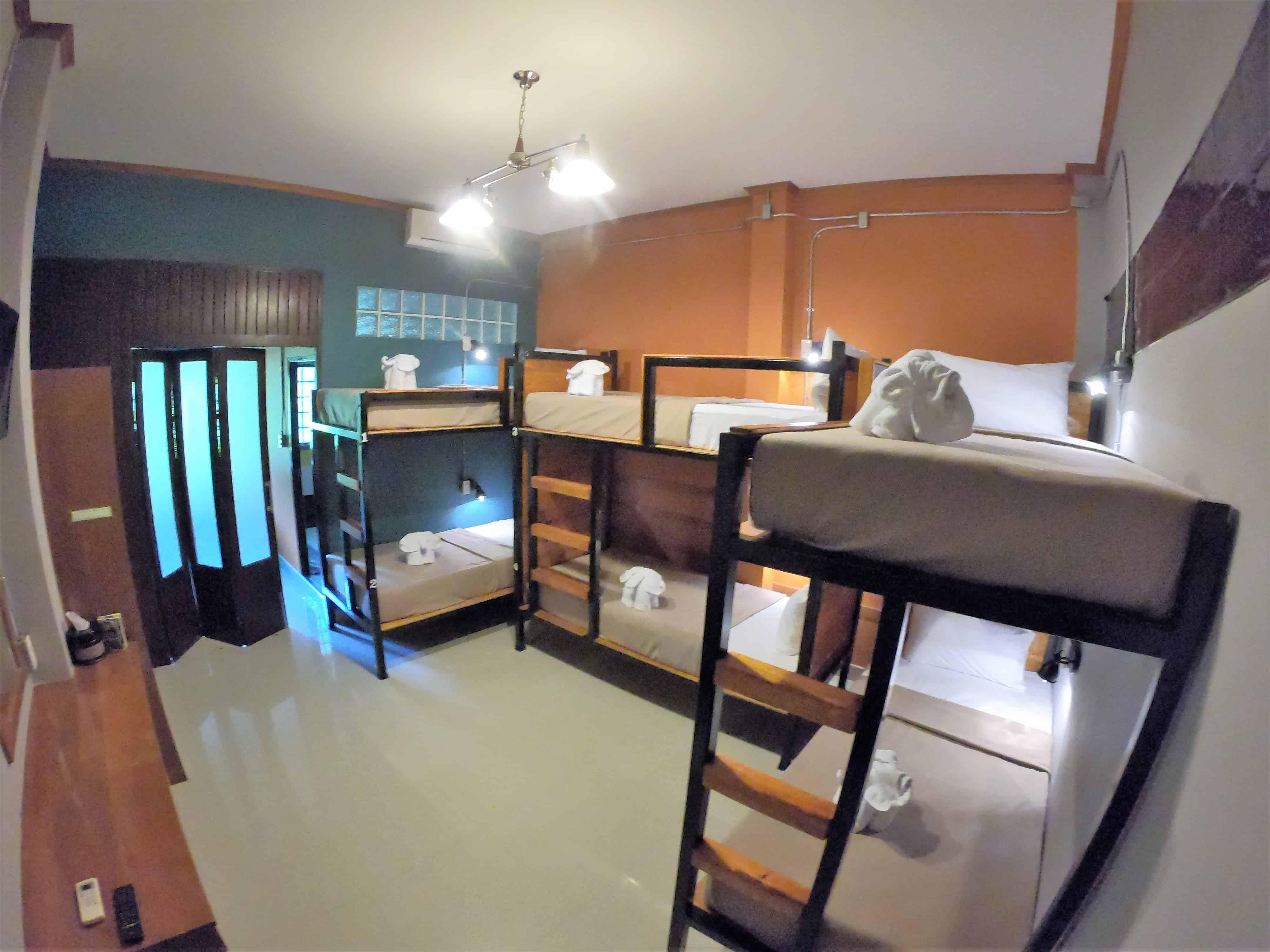 6 Bed Mixed Dorm (Poolside)