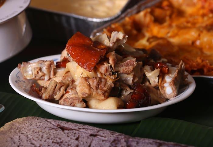 Lechon, a famous Filipino dish