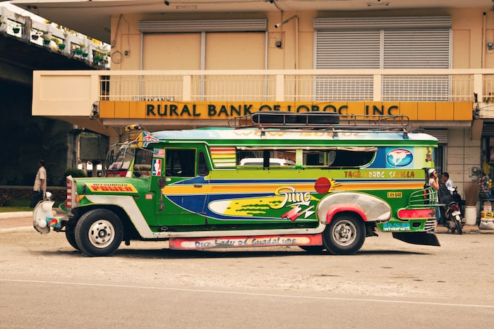Getting around the Philippines can be done for cheap and in style! © Courtesy of Shutterstock