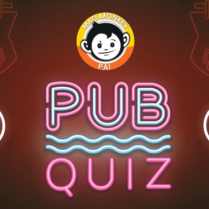 Monday Pub Quiz - Mad Monkey Hostels