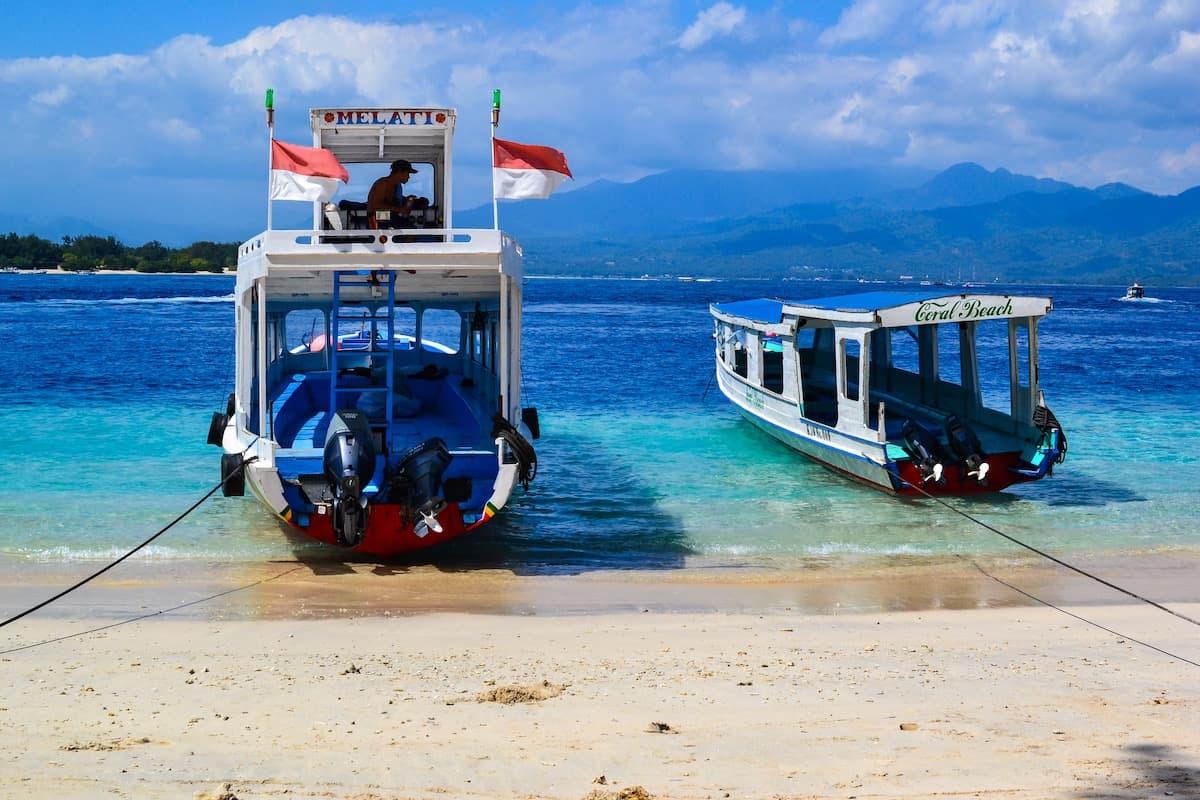 Bali to the Gili Islands