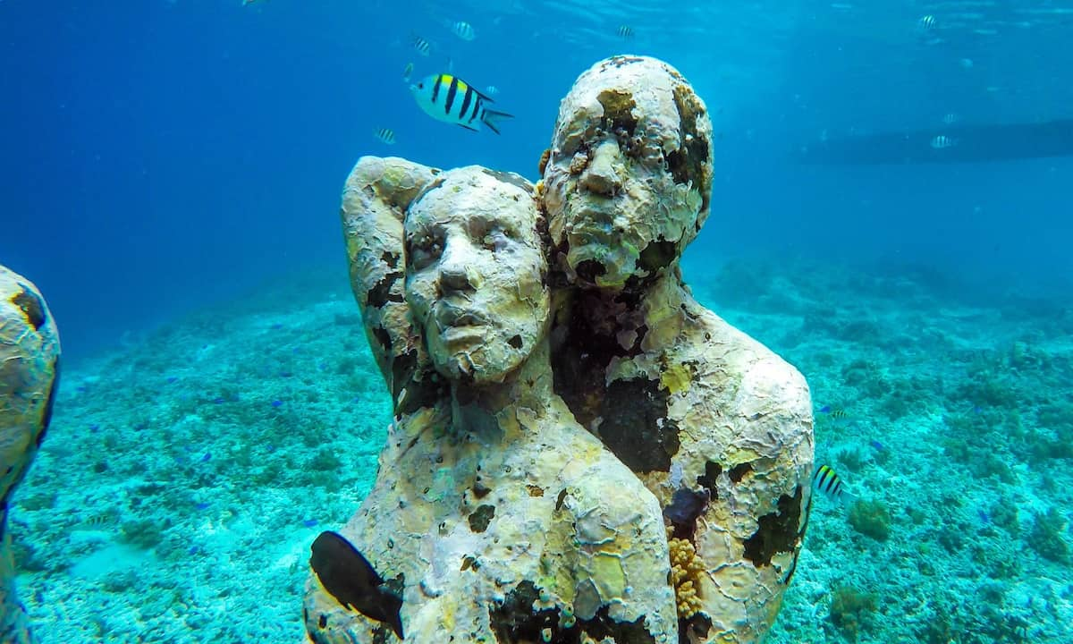 Gili Meno Statues A Guide To The Underwater Statues In Indonesia