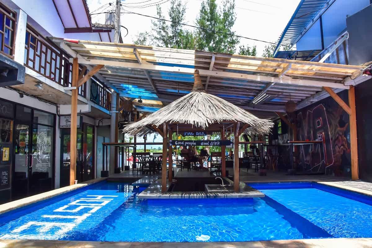 Gili Beach Bum Hotel, Gili Trawangan
