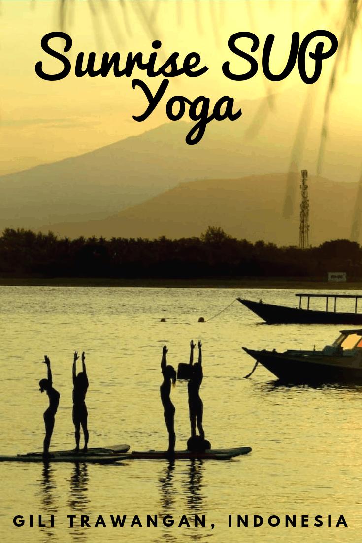 SUP Yoga Gili Trawangan