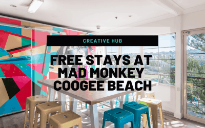 Creative Hub: Free Stays at Mad Monkey Coogee